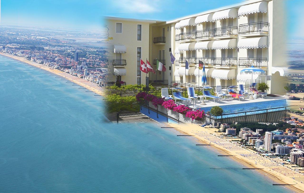 Hotel jesolo 3 stelle con piscina in via bafile hotel - Hotel con piscina jesolo ...